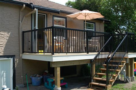 How To Install Handrails For Porch Steps
