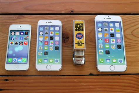 iphone 5 size are the iphone 5 and 6 different sizes iphone