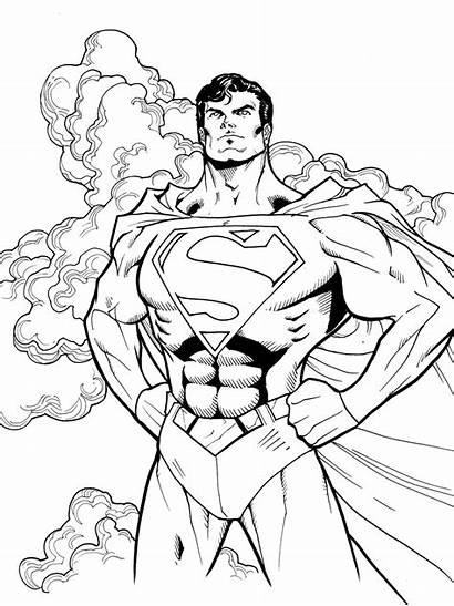 Coloring Superhero Sheets Books Flash Sheet Superman