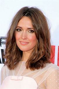 medium-length-haircuts-dark-brown-hair - Elle Hairstyles