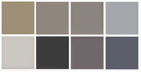 chambre couleurs nuance de gris peinture 2 couleur gris taupe peinture