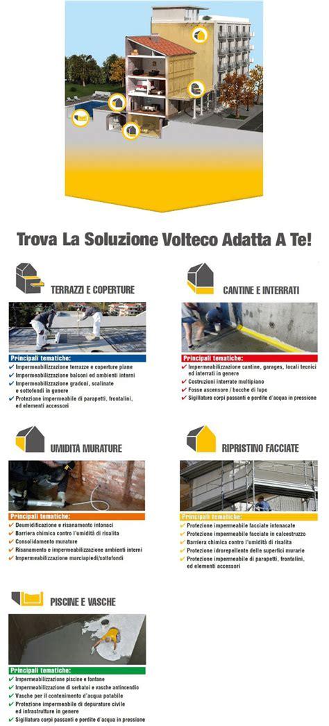 Impermeabilizzazione Muri Interni Volteco Prodotti Impermeabilizzanti Edilportale