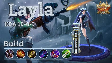 Mobile Legends Layla Mvp Sniping My Way Through Ranks