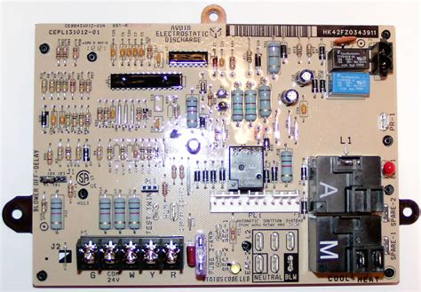 hkfz bryant carrier furnace control circuit board