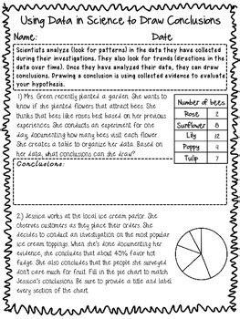 Fair Science Conclusion Worksheet Fair Best Free Printable Worksheets