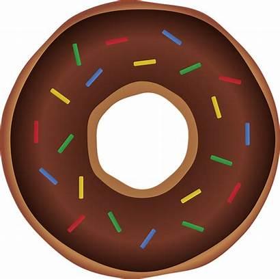 Donut Donuts Clipart Icon Run Birthday Web