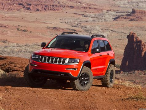 fotos de jeep grand cherokee trailhawk ii concept