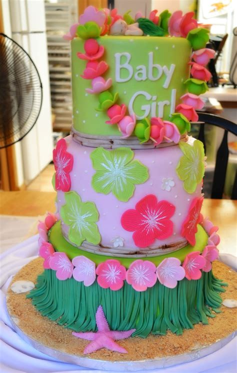 Oh, Just Put A Cupcake In It Hawaiian Baby Shower And