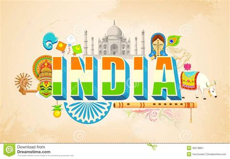 india background stock vector illustration  hinduism