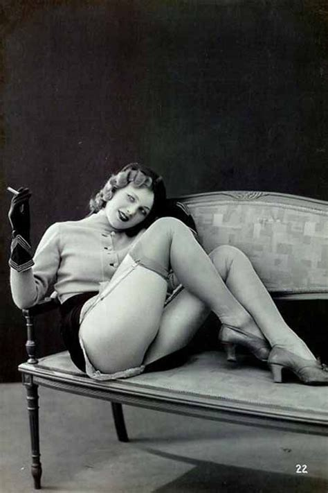 17 Best Images About 1920s Erotica Postcards French