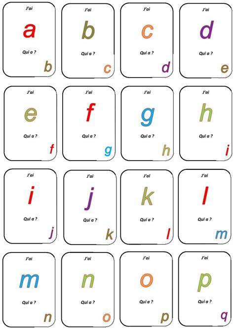 telecharger des jeux de cuisine jeu quot j 39 ai qui a quot la maternelle de camille alphabet
