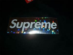 Supreme Holographic Box Logo Tees