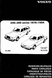 Volvo 240  U0026 260 Parts Catalog