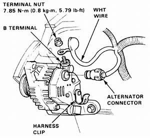 Alternator Wiring Diagram Mitsubishi