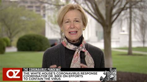 coronavirus pandemic interview  white house