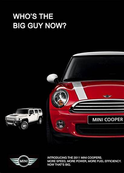 Mini Cooper Ads Advertising Advertisement Campaign Poster