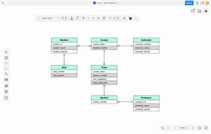 Database And Er Diagram Software