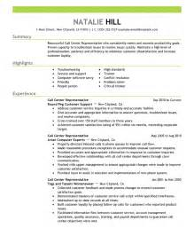 Exle Of Cv Resume For by Resume Sle 2 Resume Cv