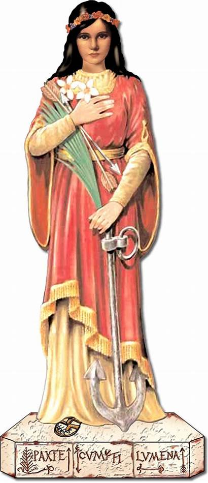 Philomena Saint St Rosary Filomena Catholic Patron