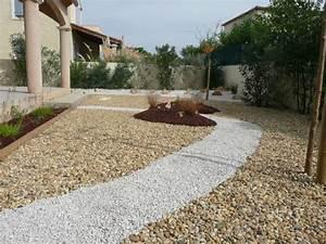 Gravier Pour Jardin : parterre gravier interesting bordure pour jardin bordure ~ Premium-room.com Idées de Décoration