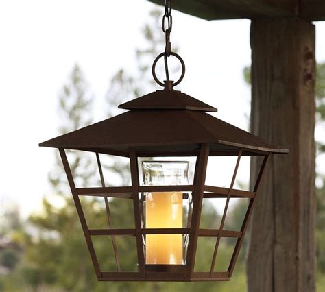 santa pendant pottery barn traditional outdoor