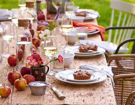 Herbstliche Dekorationen Für Den Tisch by Tischdeko Sp 228 Tsommerliche Tischdeko Bild 2 Living At