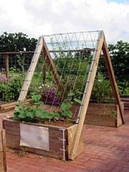 How To Build A Vertical Garden Frame by How To Build A Vertical Vegetable Garden Dengarden