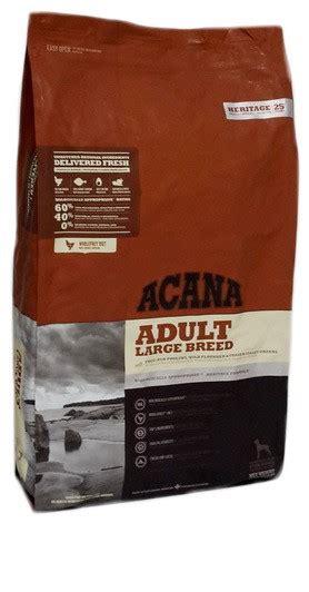 acana heritage adult large breed kg acana heritage dog