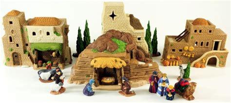 department 56 nativity dept 56 town of bethlehem nativity of well palm trees 59757 ebay