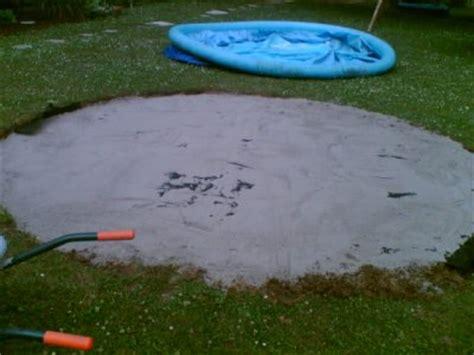 pool aufbauen untergrund 3 quartal 2006