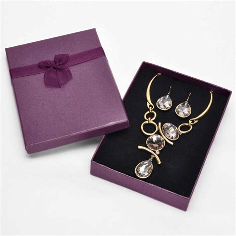 Custom Jewelry Gift Boxes  Jewelry Boxes Wholesale
