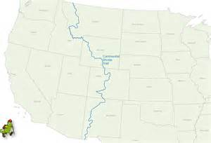 United States Continental Divide Map