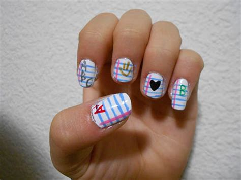 Nail Art Designs Back To School - Ivoiregion