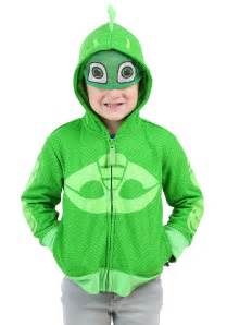 it s a boy decorations gekko toddler boy costume hooded sweatshirt from pj masks
