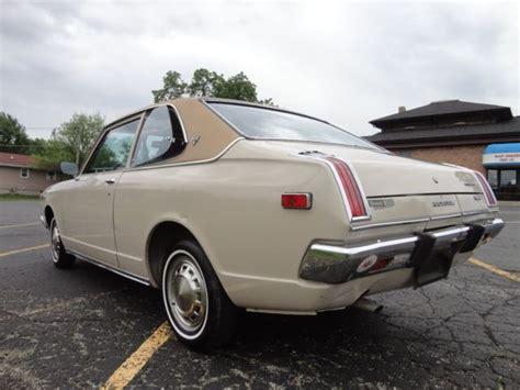 1972 toyota deluxe mk1 corolla and celica chassis jdm ta12l ha