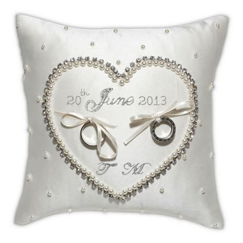 cinderella wedding ring cushion olivier laudus ceremony ideas pinterest initials
