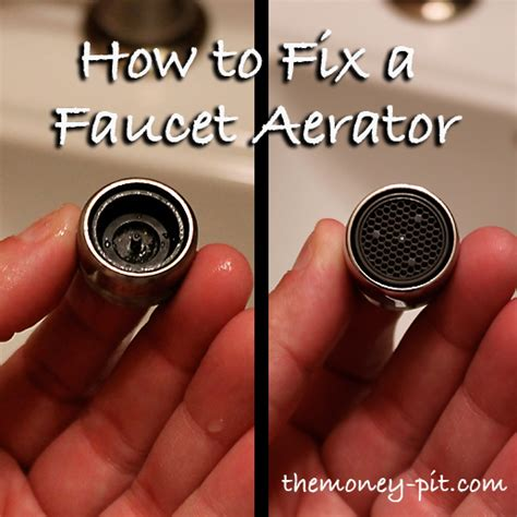 fixing a faucet aerator you can be a diy r too the kim
