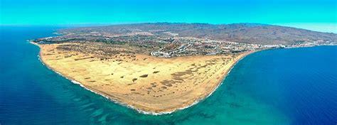 Playa del Inglés, south coast Gran Canaria