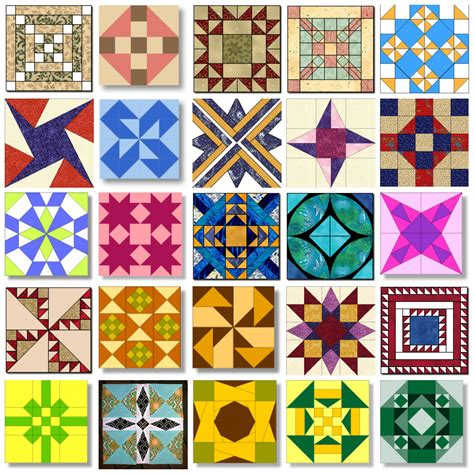 Traditional Quilt Pattern Names   The New Quilting Design