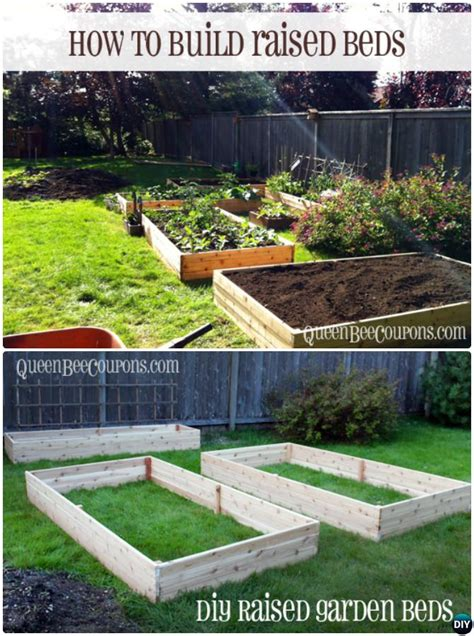 Gardens How To Build by Diy Raised Garden Bed Ideas Free Plans