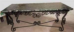 Table Basse Ancienne : salons fer forg occasion dans le bas rhin 67 annonces ~ Dallasstarsshop.com Idées de Décoration