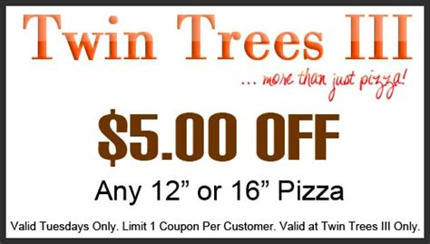 68629 Original Ny Pizza Coupon by Trees Pizza Coupons Kohls Coupons July 2018