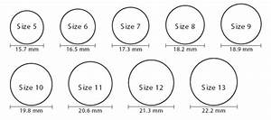 Bracelet Size Chart Mm Sizing Vettori Website Online Store The Venetian