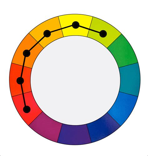 warm colors color harmonies 4 cool warm split tetradic and square luminous landscape