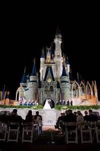 Disney Cinderella Castle Wedding