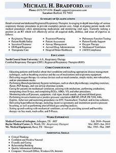 Job Resume Cover Letter Samples Respiratory Therapist Resume Sample Respiratory