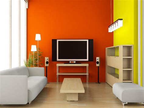 bloombety yellow orange paint colors interior design an