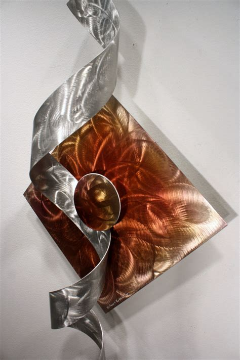 wilmos kovacs modern abstract unique metal sculpture