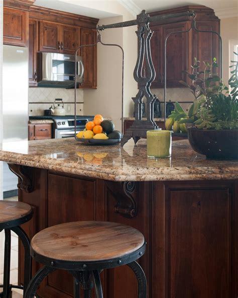 Granite Countertop Kitchen Island by Photo Page Hgtv