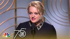 Elisabeth Moss Wins Best Actress in a TV Series, Drama at ...